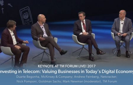 TM Forum Live! Keynote: Valuing Businesses in Today's Digital Economy